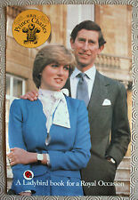 """5 Promotional Sheets for """"A Ladybird Book For A Royal Occasion"""" Princess Diana"""