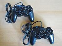 2 Controller für XBOX mit Vibration - Joypad Gamepad NEU schwarz