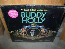 BUDDY HOLLY a rock & roll collection - ( rock ) - 2lp - mca - SEALED -