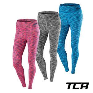 Women's Leggings Running Gym TCA SpaceKnit Yoga Pants Workout