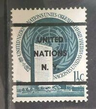United Nations 1951, Precancelled - rare