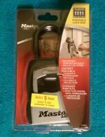 Master Lock Safe Space - Portable Lock Box - 5400D (Holds 5 Keys)