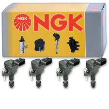 4 pcs NGK 48973 Ignition Coil for U5180 48973 UF645 GN10485 IC571 178-8490 zt