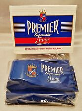 Lot of 2 Premier Supermatic Twin Tube Injector Cigarette Rolling Maker Machine
