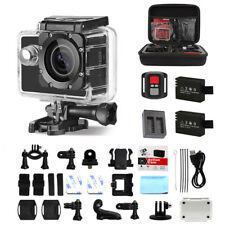 Waterproof Sports Action Camera WiFi 4K 16MP HD Helmet Camcorder for Go pro