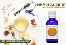 Essential Oil Blends DEEP MUSCLE PAIN RELIEF OIL BLEND Natural Therapeutic Oils