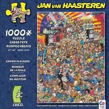 CROWD PLEASERS JIGSAW PUZZLE ROCK AROUND THE CLOCK JAN VAN HAASTEREN 1000 PCS