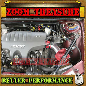 RED CHF 1997-2005 CHEVY MONTE CARLO/PONTIAC GRAND PRIX 3.8L V6 AIR INTAKE KIT