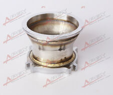 UNIVERSAL STAINLESS STEEL 2.5'' 4 BOLT TO 3.0'' V-BAND ADAPTER TURBO GT35 T3