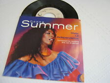 Donna Summer State Of Independence/Love Is Just A Breath Away 45RPM Geffen W/PS
