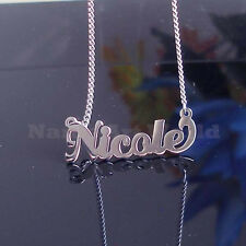 Nicole Name Necklaces. Next day ship. Never Tarnishes. -USA seller