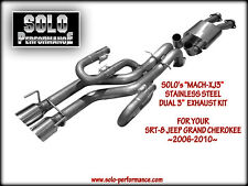 Solo Performance Cat Back SRT 8 Jeep Grand Cherokee Exhaust 2006 - 2010