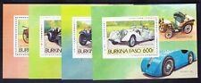 More details for burkina faso 1985 michel a103/10 cars & planes 6 x mini-sheets u/m cat 60 euros