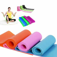 Elastic Yoga Pilates Rubber Stretch Resistance Exercise Fitness Band Sport NEW
