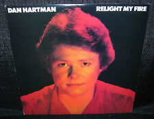 DAN HARTMAN Relight My Fire (1979 US Gold Foil Stamped Promo LP w/Picture Sleeve