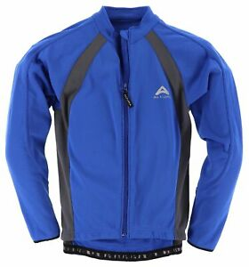 Altura Herren Jacke Jacket Gr.S Rad Jacke Fleece-Futter Blau 111187