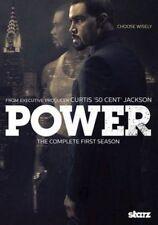 Power Complete Season One R1 DVD Series 1 Curtis 50 Cent Jackson