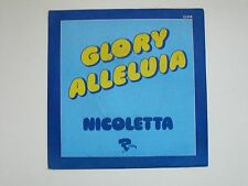 NICOLETTA Glory Alleluia 45 Tours SP