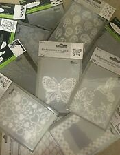 "Darice Embossing Folders 4.25"" x 5.75"" **VARIOUS DESIGNS** $4.50 EACH** Set #1"
