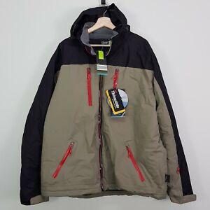 CRANE Snow Extreme Mens Size XXL Waterproof Snowboard Jacket NEW + TAGS