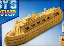 CANAL NARROW BOAT MATCHSTICK MODEL KIT, BRAND NEW
