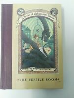 A Series of Unfortunate Events The Reptile Room by Lemony Snicket Hardback 1999
