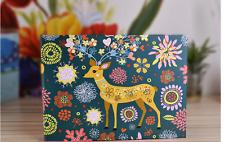 DIY 25Pages 2-Ring Binder Deer Scrapbook Album Wedding Guest Book Baby Show