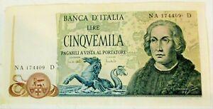 5000 Liras Cristóbal Colón 3 Caravelle D. M. 20/05/1971 Qfds