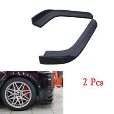 Stylish Car Bumper Spoiler Twist AntiScratch Splitter Diffuser ABS Front Shovel