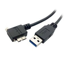 USB 3.0 A Male to Micro B Left Angled 90D Cable for Nikon D800 D800E
