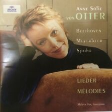Anne Sofie von Otter Beethoven Meyerbeer Spohr Lieder Melvyn Tan