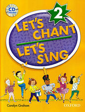 Oxford LET'S CHANT LET'S SING 2 / CAROLYN GRAHAM with CD SONGS for CHILDREN @New