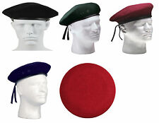 GI Military Army Style Eyelets No Flash Wool Beret Rothco 4907