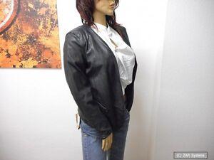 Oakwood DESIGN 61778 Damen Jacke, Blazer, 100% Leder, Schwarz Gr. M, NEU, TA-005
