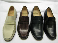 Grenson 100% Leather Slip Ons Square Formal Shoes for Men