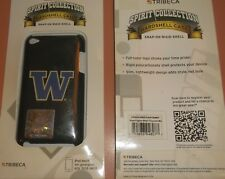Tribeca hard shell snap on case for iPod touch 4th Gen, Washington Huskies Logo