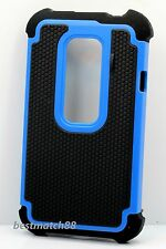 for htc evo 3d g17 HTC EVO 3D/G17 rugged hybrid hard pc rubber case 3 layer