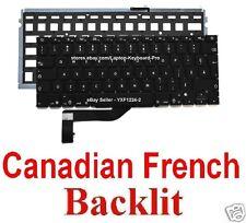 Apple MacBook Pro A1398 Keyboard - CF - Canadian French - Backlit