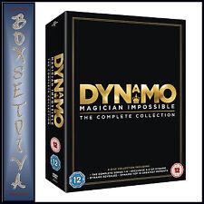 DYNAMO -MAGICIAN IMPOSSIBLE -COMPLETE SERIES 1 2 3 & 4 **BRAND NEW DVD BOXSET***