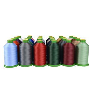 SOMABOND 40S BONDED NYLON HEAVY DUTY SEWING THREAD UPHOLSTERY LEATHER 27 COLOURS