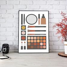 A4 Size, Makeup Inspired Art Print/Poster