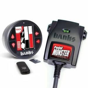 Banks Power 64323 Pedal Monster Kit iDash DataMonster For Silverado/Camaro/Tahoe