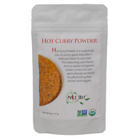 Organic Hot Curry Powder - Savory Spices Cooking Seasoning