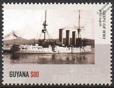 HMS Suffolk (1903) de Monmouth clase acorazado crucero Primera Guerra Mundial Sello Royal Navy buque de guerra
