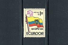 Ecuador C534, MNH. UPU, cent. Flag, Emblem, 1974. x22196