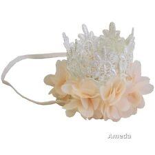 Gorgeous Baby Cream Lace Crown Headband Hair Band