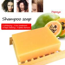 Natural Papaya Whitening Handmade Soap Whitening Skin Care Remove Acne soap