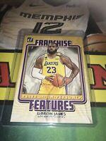 Donruss Franchise Features Lebron James Base Insert Lakers 2021