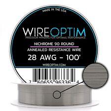 28 Awg Nicromo 90 Filo 30.5m - N90 Filo 28g Ga 0.32 mm 30.5m