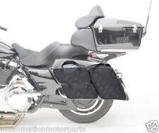 SADDLEMEN Saddlebag SOFT LINER Taschenset 4-teilig Harley-Davidson® FLH Touring